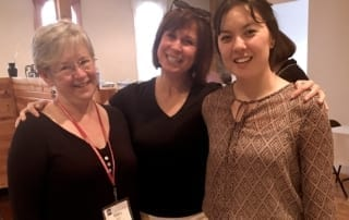 Mary McDonald Klimek, Kim Steinhauer, and Kim McInnis